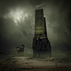 The Tower Of The Mighty God Ubbo-Sathla | by Midnight - Digital