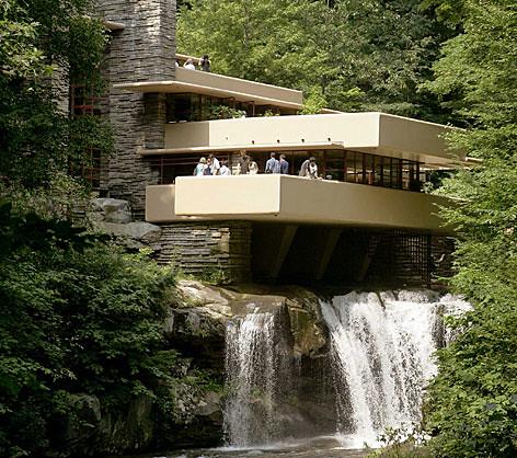 Villa sur la cascade de fank lloyd wright frank lloyd - La maison sur la cascade frank lloyd wright ...
