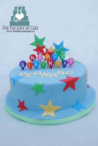 Cake Decorations Blue Stars : blue star birthday cake birthday cake with stars created ...