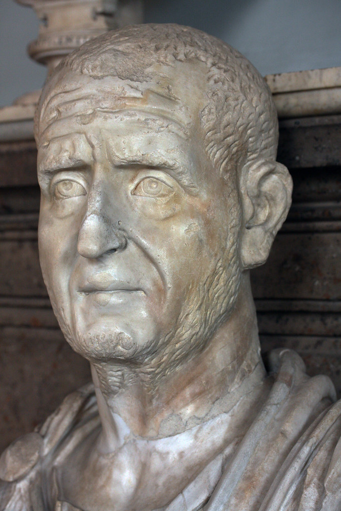 Trajan Decius Capitoline Museums Portrait Of The Roman