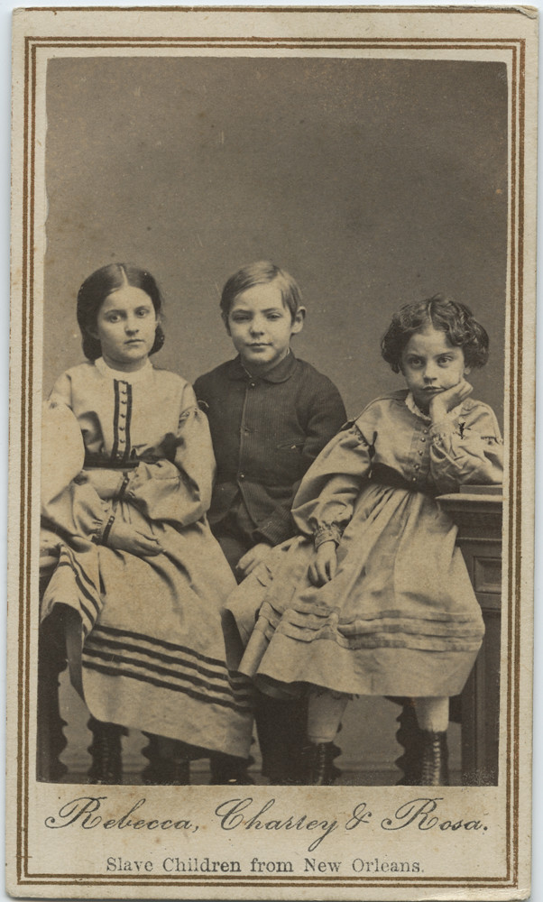 Rebecca, Charley & Rosa, Slave Children from New Orleans