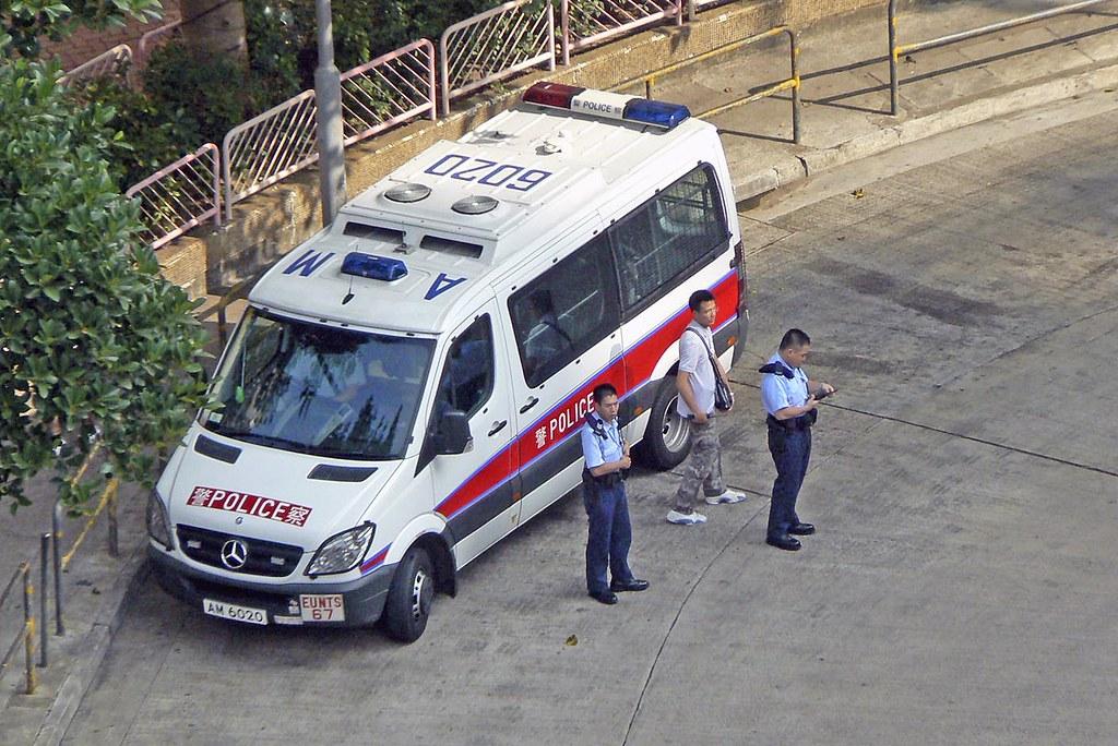 Hong Kong Police Eu Car 香港警察衝鋒隊警車 Eunts 67 Eunts