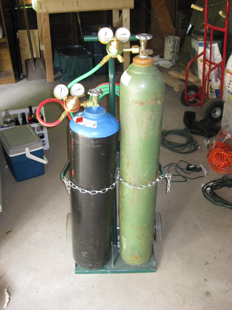 Oxy Acetylene Set Up Edgerrel Flickr