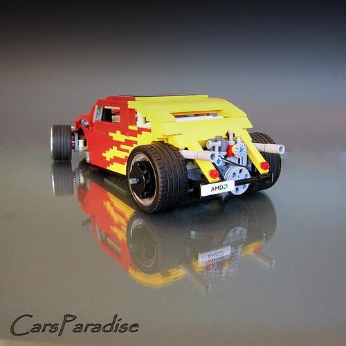 VW Beetle Volksrod: A LEGO® creation by Firas Abu-Jaber : MOCpages.com