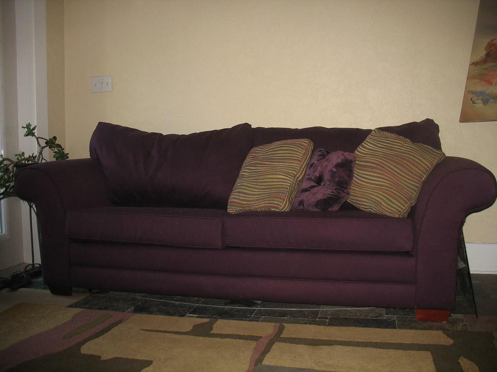 Purple Queen Size Sleeper Sofa Purple Queen Size Sleeper