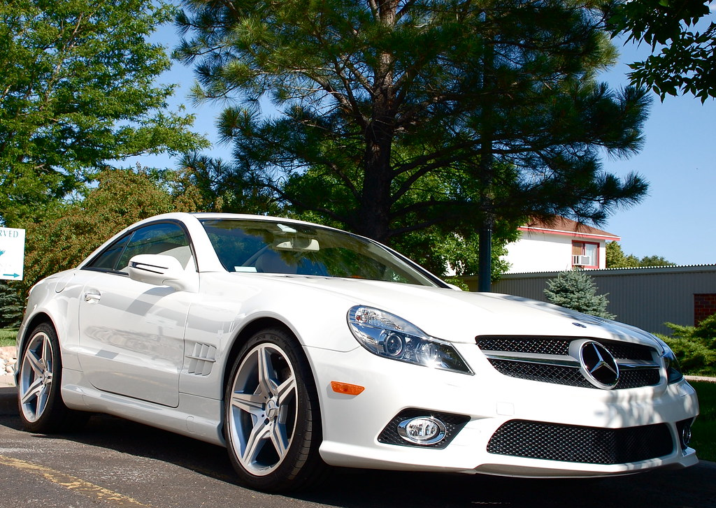 2009 mercedes benz sl550 white fits this car perfect for New white mercedes benz