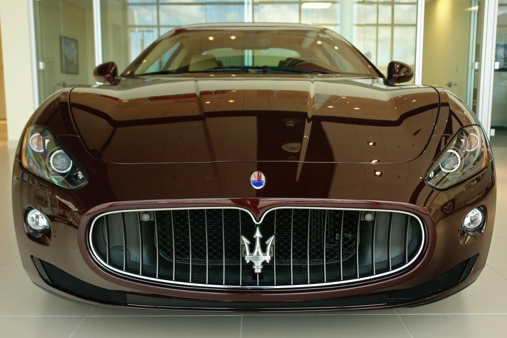 Big Smiley Maserati Maserati Granturismo Face On No