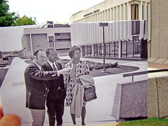 Campus tour now/then | by uwgb admissions