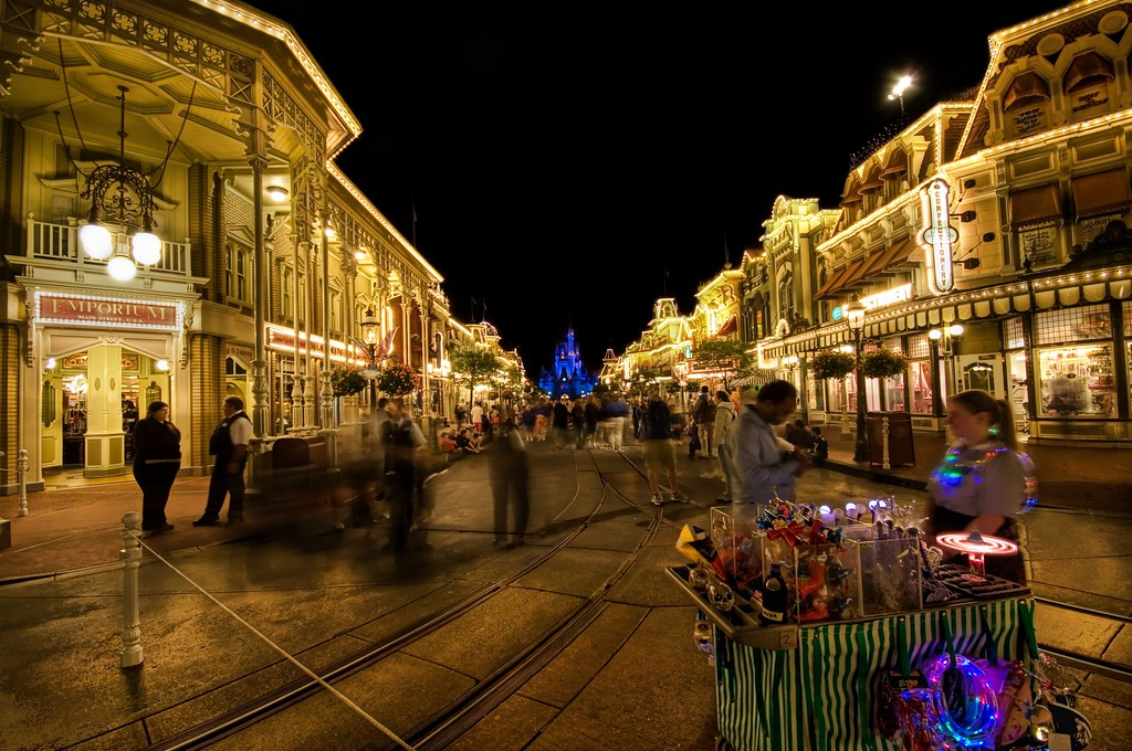 The Magic Of Disney S Main Street At Night Disney After