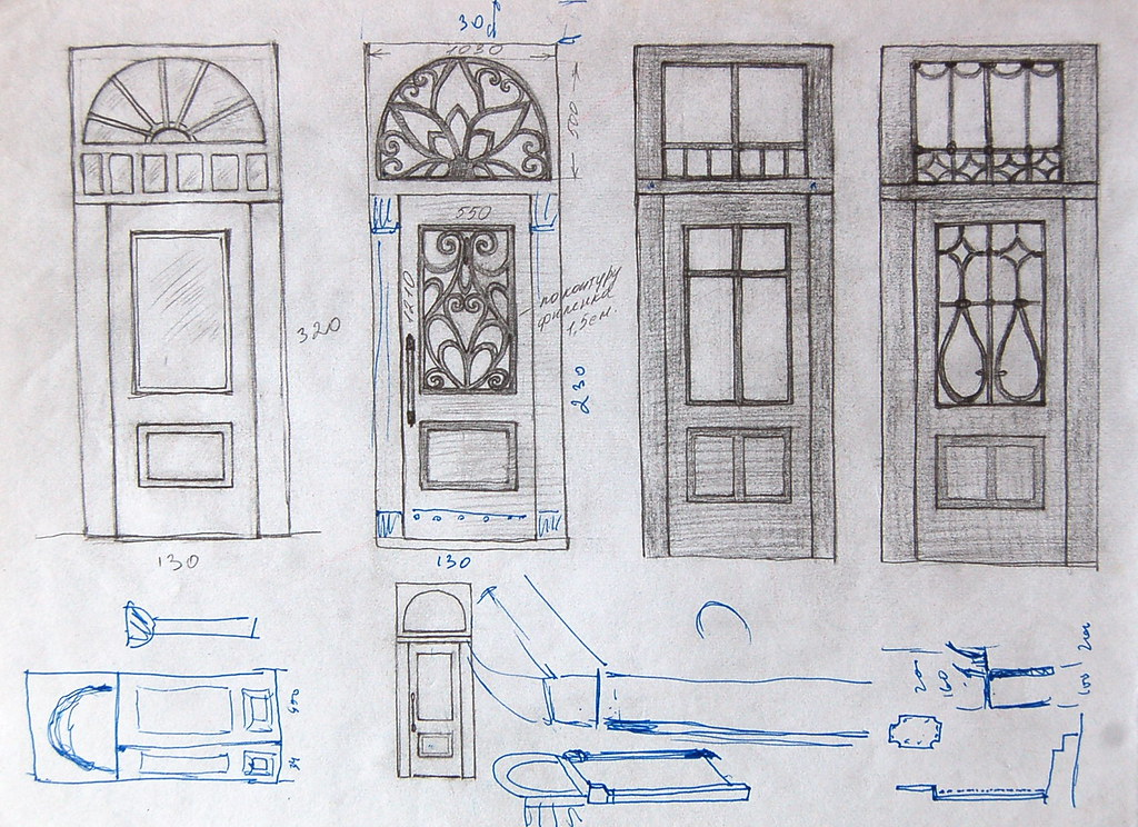 Sketch - Door Design   Olga   Flickr