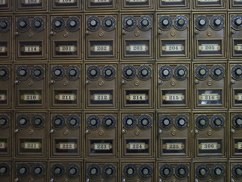 Dormitory Mailboxes | by ConanTheLibrarian