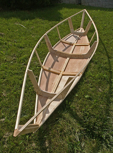 The home built 100 dollars Canoe | by Ulrich Burkhalter