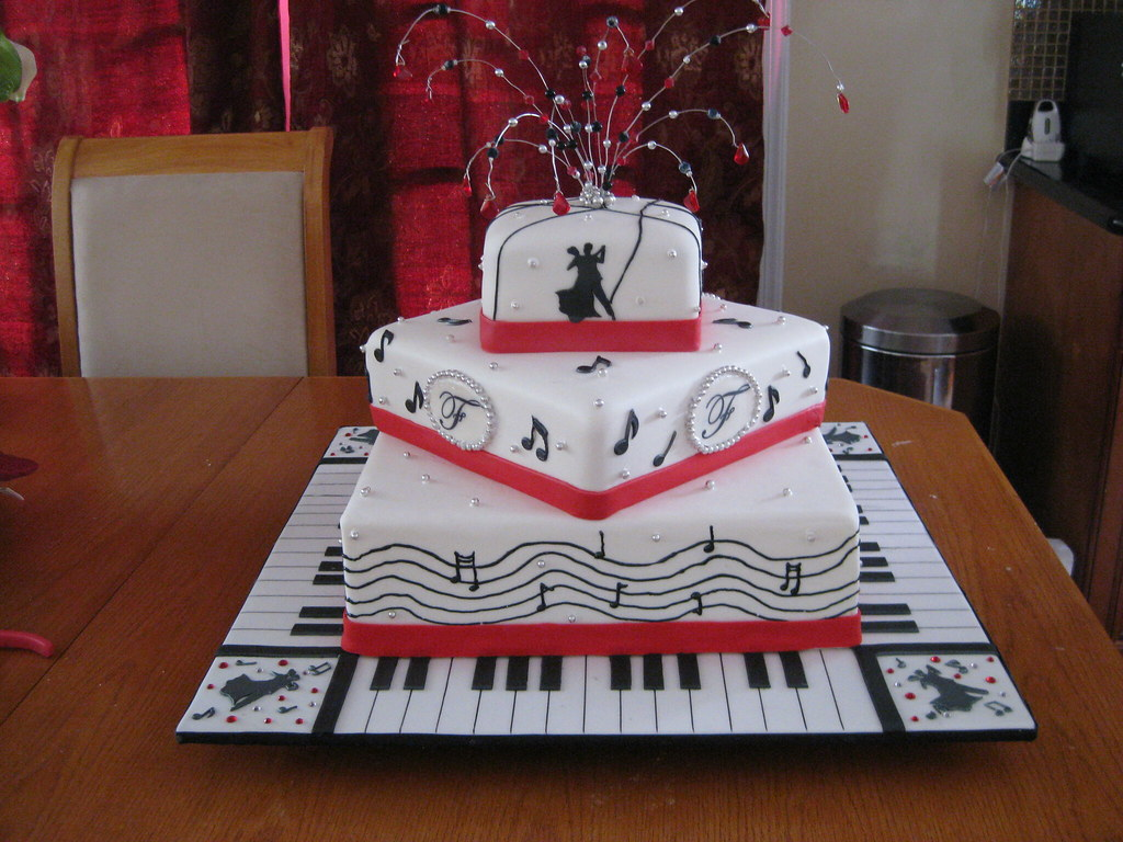 Music Theme Wedding Cake Cakes2crumbs Flickr