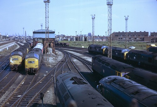 Cardiff Canton from footbridge - 3rd August, 1974 | by Deadman's Handle