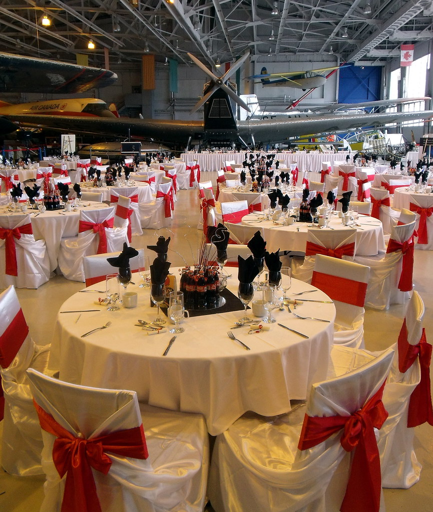 White flight wedding wow private function at the for Aviation decoration ideas