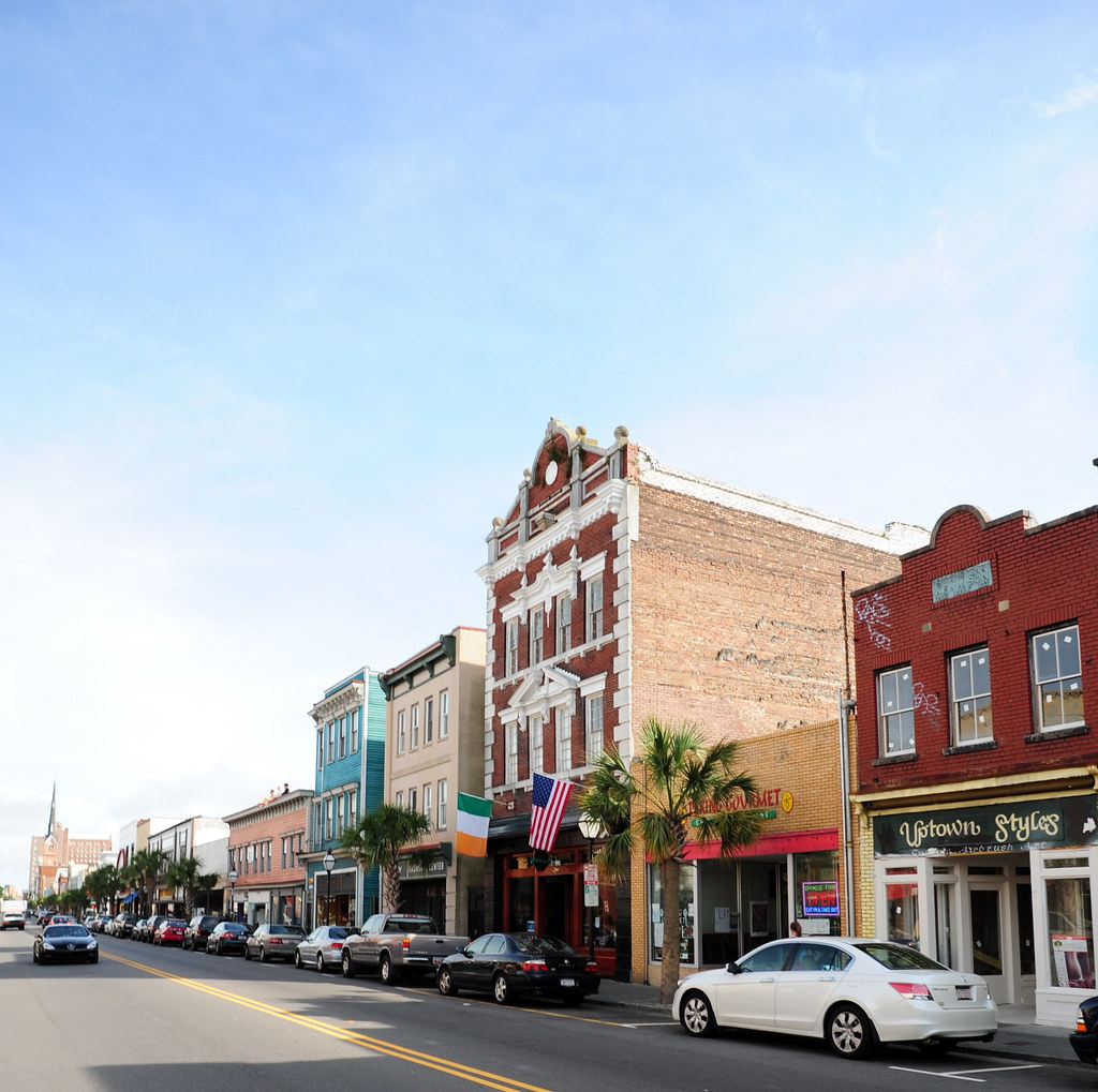 King St Charleston Sc: Upper King Street, Charleston, SC