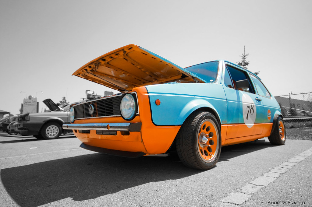 gulf racing vw mk1 rabbit andrew arnold flickr. Black Bedroom Furniture Sets. Home Design Ideas