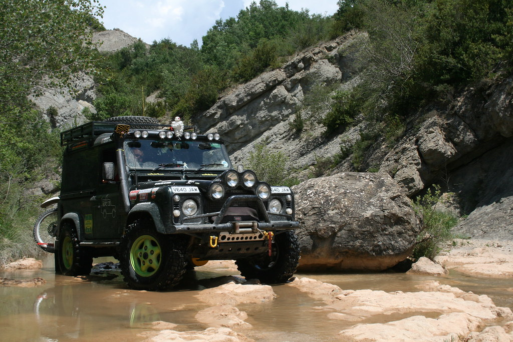 Modified Land Rover Defender 90 Nick Wilkes Flickr
