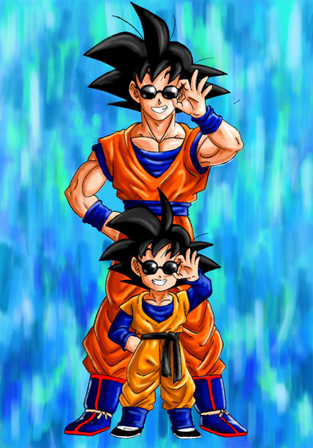 goten and goku leda verônica flickr