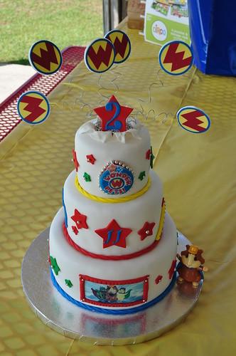 Wonder Pets Birthday Cake