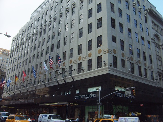 Bloomingdales 59th Street And Lexington Ave This