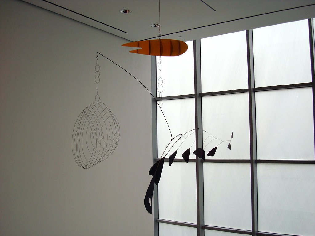 Lobster Trap and Fish Tail   Alexander Calder 1939 painted s…   Flickr