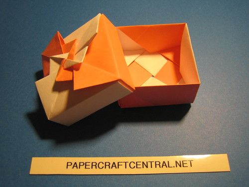 Origami Box - Fancy Pinwheel | For more visit www ... - photo#6
