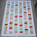 Oh Cherry Oh Stacked Coin Quilt Top