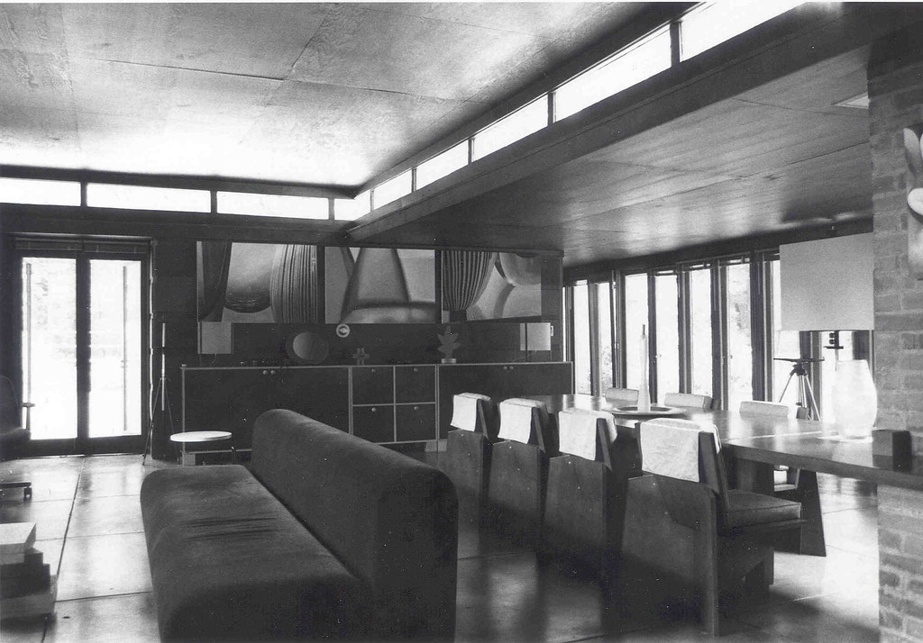Goetsch winckler house 1940 frank lloyd wright - Lloyds architecture planning interiors ...