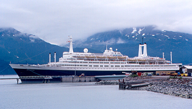 Valdez Ss Rotterdam Ss Rotterdam Our Cruise Ship At