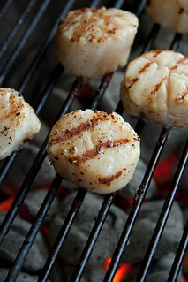 Grilled Scallops | by Another Pint Please...