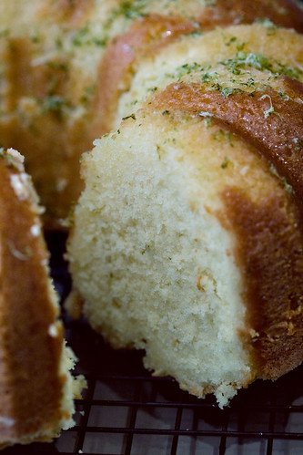 Lime Pound Cake With Cream Cheese