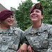 Fort Bragg couple tackles Army life together