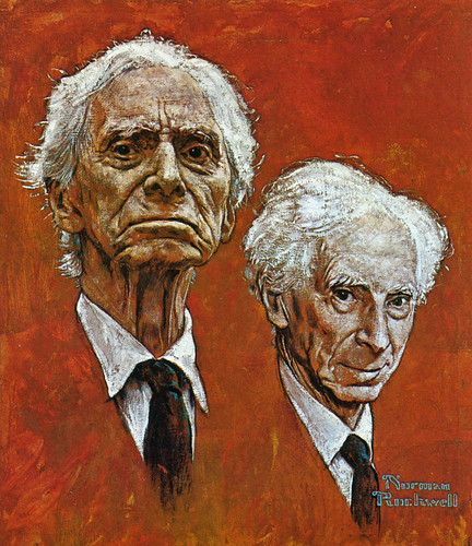 1967 ... Bertrand Russell by Norman Rockwell | by x-ray delta one