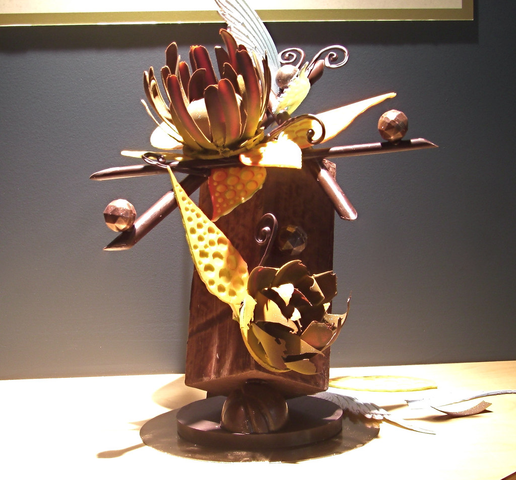 Abstract Chocolate Sculpture   My sculpture using the ...