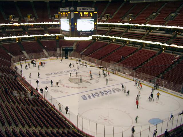 Anaheim Ducks Face-Off Fest 2009: Honda Center ice rink | Flickr