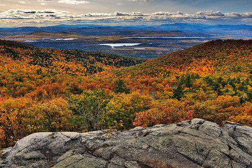 The View from Pleasant Mountain, Maine | by Tom Arbour