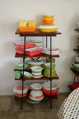 Pyrex Display! | by Jeni Baker
