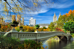 Bow Bridge over The Lake, Central Park, NYC | by andrew c mace