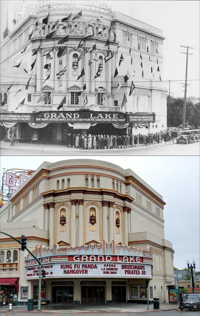 Grand Lake Theater Original Marquee