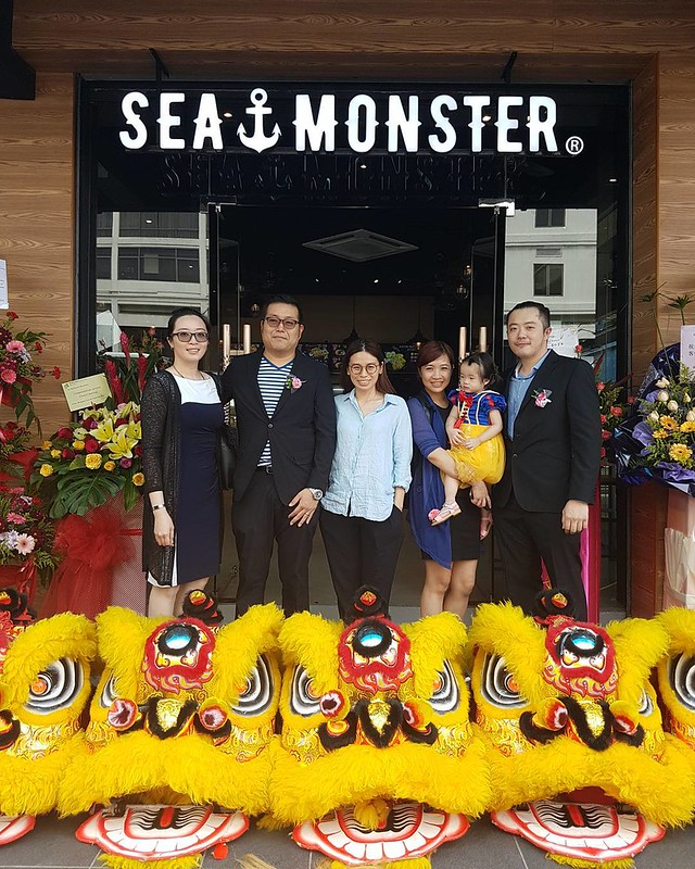 Congratulation to @myseamonster on your grand opening. Good to see another local brand coming up in KK. Eat local seafood fast food style bah😆🐟