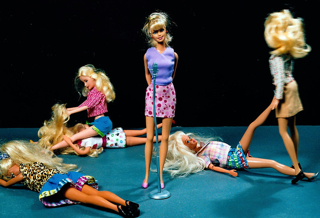 The Shocking Scuffle At The Blonde Barbie Beauty Contest