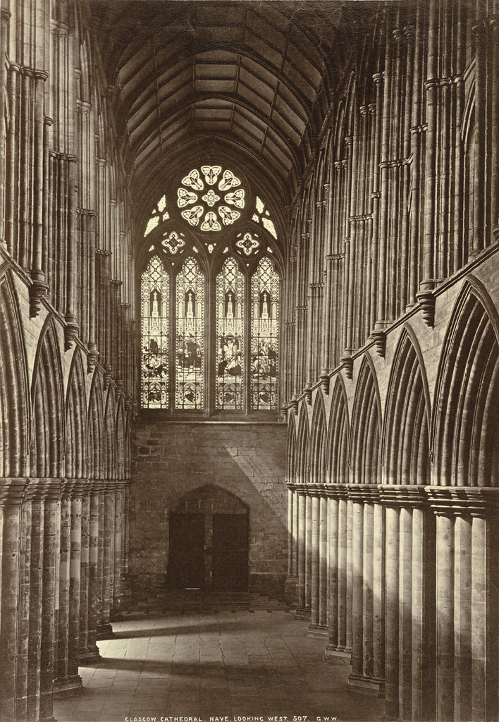 Glasgow Cathedral. Nave, Looking West (Interior