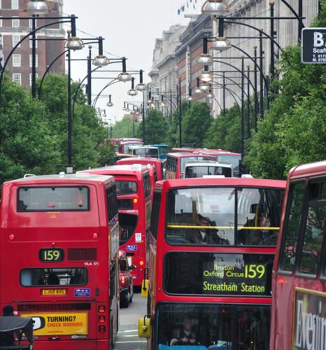 Oxford Street Bus Street By Quadriman Brother