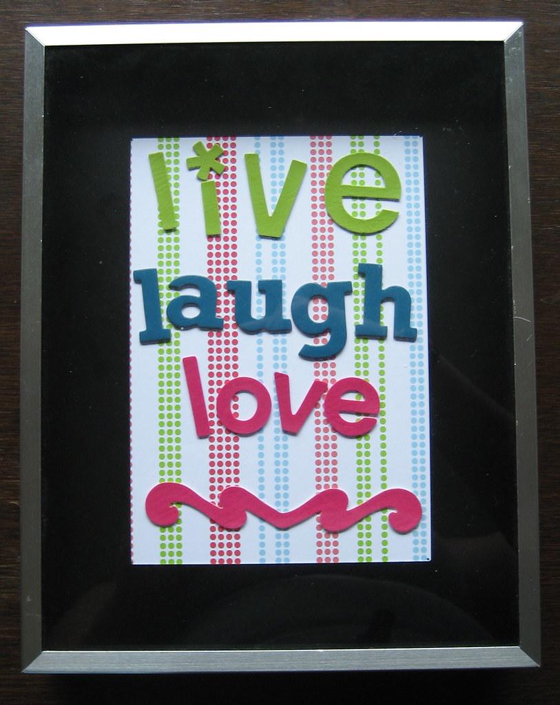 live laugh love 3d - photo #30