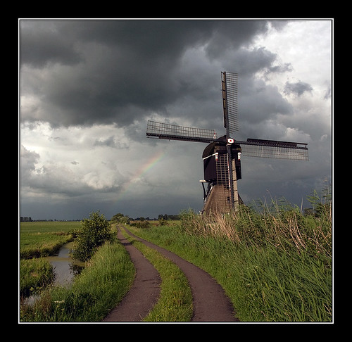shower is coming over the Dutch mountains | by holland fotograaf