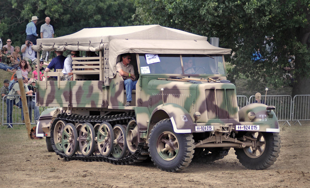 Sd Kfz 7 8ton This Vehicle Is Owned By Bruce Crompton