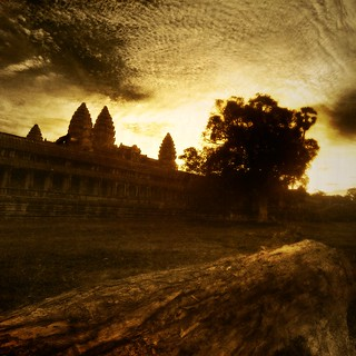 Burning Through the Clouds - Angkor Wat in the Morning | by Stuck in Customs