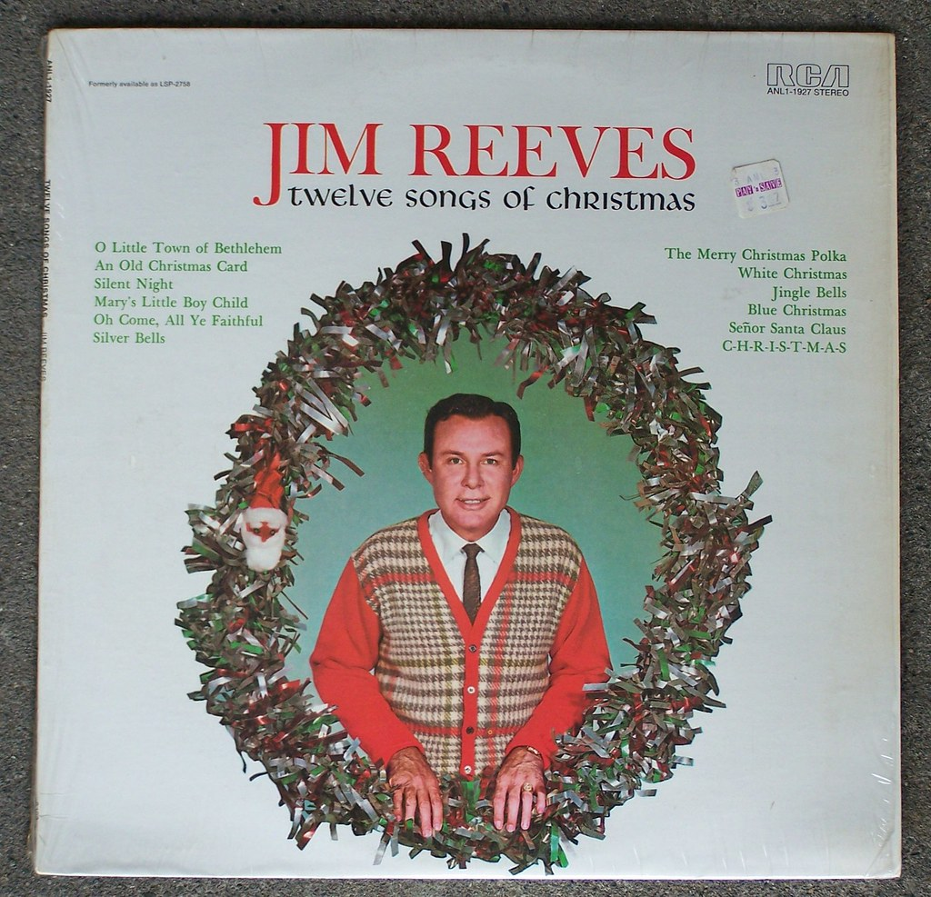 Jim Reeves - Twelve Songs of Christmas | I\'ve somehow never … | Flickr