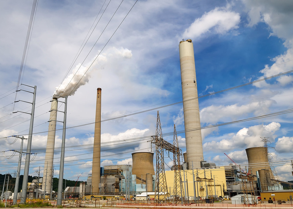 Wv Power Plant John E Amos This Was Taken Out The
